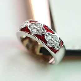 Wholesale Ms Queen - Ya Ni Kuang export enamel diamond ring sold exclusively original single solitary Ms. Queen Ring