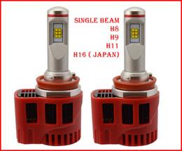 P6 führte scheinwerfer online-1 Satz H8 H9 H11 90W 9000LM P6 Auto LED-Scheinwerfer-System LUMILED LUXEON MZ CHIPS 12 / 24V 3000K 4300K 5000K 6000K CANBUS Fahren Nebel LED-Lampen