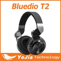 Wholesale Noise Canceling Bluetooth Headsets - Wholesale Bluedio T2 Stereo Bluetooth 4.0 Headset noise canceling headphone wireless Headset With Retail Package
