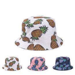 Wholesale Mouse Animal Hat - 10 design Fruit Bucket hats Buckets caps Mouse Bucket Hats Baseball Caps Cap Snap Back Snapbacks Hat High Quality Mixed Order F139
