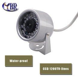 "Wholesale Effio P Mini - YBR 1 3""SONY effio CCD 1200TVL Indoor security CCTV camera 30 LEDs light home Video Surveillance hd night vision mini Dome Camera"