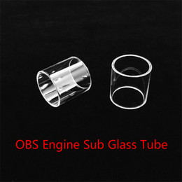 Wholesale Cheap Engine - Wholesale OBS Engine Sub Tank Replacement Glass Tube With DHL Free Shipping buy cheap OBS Engine Sub Tank Glass tube