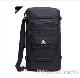 Wholesale Big Travel Backpack Bag - Wholesale-free shipping new outdoor back waterproof climbing mountaineering bag hiking 40L 55L male travel backpack big desert camping