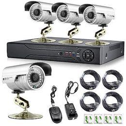 Wholesale Dvr Security Camera System 16ch - Free DHL.EMS, 16CH DVR 1300TVL High Resolution IR Security Surveillance Cameras CCTV System Real time video Recorder Iphone APP