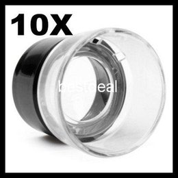 Wholesale Clock For Repair - MG17136 Portable Cylinder Magnifier (10x) 10x Pocket Size Eyepiece Magnifier for Clocks Watches Repair for inspection of plants animals