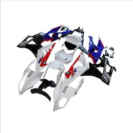 Wholesale Bmw Rr - Abs panels for BMW S1000RR 11 12 13 14 1000 RR 2011- 2014 injection motorcycle fairing kit Body White Blue Black Caren