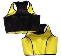 Wholesale Tank Top Shapers Wholesale - 100pcs AAA+ quality Hot Neoprene Sports Bra Slimming Shapers Bra Hot shapers Vest Body Shaper Women sports vests Tops Tanks