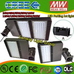 Wholesale Wholesale Area - 2016 LED parking lot lights shoe box lamp parking area lamp flood lights Street Lights 24w 48w 60w 100w 200w 240w 300w ac90-305v