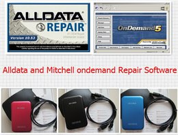 Wholesale Drive Update - Auto Repair alldata and mitchell ondemand Software all data 10.53V + Mitchell Manager plus 3in1 750gb hard drive high performance low price