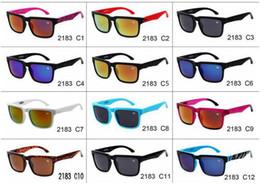 Wholesale men s fashion polarized sunglasses - Fashion bright multicolor sunglasses, S, P, Y2183 personalized sports sunglasses, fashion sunglasses, 12 color optional sunglasses wholesale