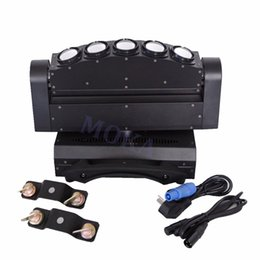 Wholesale Club Lights Moving - Moka MK-M15 Led Stage Light 5 Eye Moving Head Light Stage Party Club Pub Special Light Effect