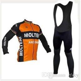 Wholesale Cheap Spandex Clothes - Ropa Ciclismo2015 MOLTENI RETRO Bicicletas long sleeve cycling jersey MTB bike clothing Cheap cycling clothing china tight hot