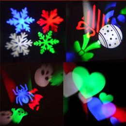 contexto de rideau vidéo Promotion Lumières de vacances de Noël Laser Projecteur Lampes LED Scène Lumière Coeur Flocon De Neige Partie Paysage Lumière avec 2 Objectif Remplaçable