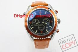 Wholesale Digital Wrist Watches Womens - Luxury Brand New Dark Blue Dial Golden Lether belt Stainless Band Womens Quartz Date Watch Womens Sports Wrist Watches