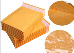 Papel kraft Sobres Correo aéreo Bolsas de aire Embalaje Burbuja Amortiguación Sobres acolchados Envoltura de regalo 160mm * 140mm 6.29 * 5.5 pulgadas Envío de la gota desde fabricantes