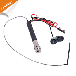 Wholesale Guitar Tuning Acoustic - Endpin jack preamp pickup kit for Acoustic Guitar Endpin Jack Preamp Kit with Volume and Tone Tuning Knob