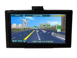Wholesale Gps Navigator Touch Screen - Factory outlets built 4g navigator 5-inch high-definition LCD LCD touch screen GPS car navigation systems