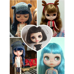 Wholesale Novelty Makeup - Free shipping Forturn Days Icy Like Blyth Doll Toy Gift For Diy Bjd 30cm 1  6 Lower Price Special Offer With Makeup Normal Body
