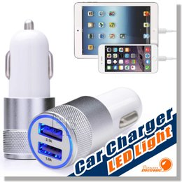 Wholesale Usb Car Adapter Travel - Car Charger, 3.1A Dual USB Port Car Chargers Portable Travel Charger Rapid Auto Adapter for iPhone 6 Plus 6 5S 5 4, iPad,Samsung Galaxy