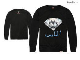 Wholesale Women Shirt Trend - Diamond Supply CO. Long Sleeve T Shirts Tees Fashion Trend Men and Women Skateboard Outdoor Hip Hop Casual Sweatshirts free ship