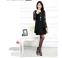 Wholesale Wholes Sales Dresses - Whole sale Women sexy night club dresses, Women Summer LADY long sleeve lace dress Free Shipping