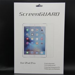 """Wholesale Hd Cleaner - Ultra Thin HD Clear PET Screen Protector Guard Transparent Protective Film for iPad Pro 12.9"""" ipad mini 4 7.9"""" with cleaning cloth & retail"""