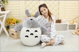 Wholesale Giant Stuffed Totoro - 2016 100CM Totoro Cartoon Plush Toys giant Stuffed animal plush Toys Gift For Children totoro brinquedos toys for girls