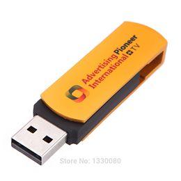 Nueva llegada multifuncional de oro USB en todo el mundo TV por Internet y reproductor de radio Dongle TV Stick CS # 8 desde fabricantes