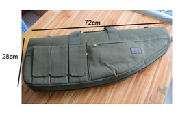 "Wholesale Coyote Tactical - Wholesale-28"" Tactical AEG Rifle Sniper Case Gun Bag Coyote Olive free shipping"
