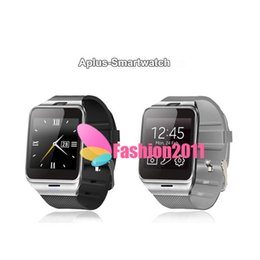 Wholesale Waterproof Gsm Watch Phone - GEAR2 Aplus Smart Watch With touch Screen Camera Bluetooth NFC SIM GSM Phone Call U8 data sync Waterproof for Android Phone 002716
