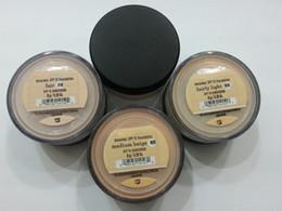 Wholesale Tanning Oil Wholesale - Matte makeup Minerals original Foundation Fair c10 fairly medium C20 medium C25 fairly light N10 Light W15 medium beige N20 medium tan