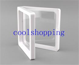 DHL Freeshipping şeffaf plastik membranlar fotoğraf çerçevesi ekran / koleksiyon kutusu / mücevher kutusu 9x9x2 cm nereden