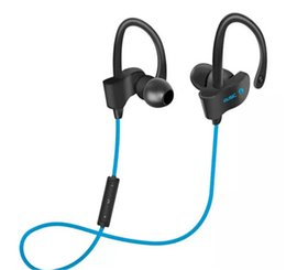 Wholesale Waterproof Mp3 Bluetooth Headphones - 56S Wireless Bluetooth Earphones Waterproof IPX5 Headphone Sport Running Headset Stereo Bass Earbuds Handsfree With Mic