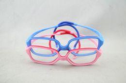 telaio ottico per le ragazze Sconti Ragazze Occhiali Frame No Vite Ragazzi ottici Occhiali con gancio per orecchio Occhiali da vista per bambini Occhiali flessibili