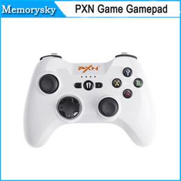 Controlador de juegos inalámbrico para ipad online-Controlador de juegos Speedy inalámbrico Bluetooth PXN PXN-6603 Gamepad Joystick para iPhone / iPad / iPod DHL gratis 010079