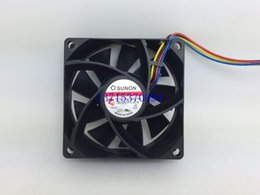 Wholesale 12v Dc Mm - SUNON MF70251V2-Q00C-S99 7025 7CM 70*70*25 mm DC 12V 4-pin 0.90A PWM cooling fan