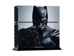 Wholesale Xbox Vinyl Decals - Skin Stickers Vinyl Decal Cover For Sony PS4 Playstation 4 Console + 2 Controller Skins BATMAN 721