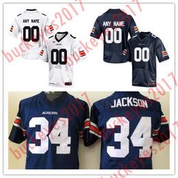 Wholesale auburn tigers football jersey - Hot Sale Stitched Auburn Tigers College Football 8 Jarrett Stidham 28 Matthews 36 Pettway 17 Wooten 80 Cannella White Navy Blue Jersey S-3XL