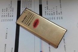 Wholesale High Capacity Gold - New arrival High Capacity golden Battery 4350mAh Gold Replacement Battery Li-ion battery for Samsung Galaxy S5 i9600 Epacket Free Shipping