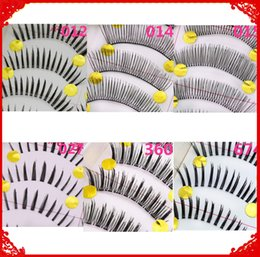 Wholesale New Hair Styling Tools - 10 Pairs 6 Style New Pretty Long False Eyelashes Handmade Black Long Natural Fake Eye Lashes Extension Women Makeup Beauty Tools