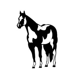 Wholesale Horse Body - Wholesale Car Stickers Indian Horse Mustang Decal Vinyl Sticker Laptop Wall Window Box Trailer Suv Truck Car Bumper