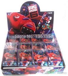 Wholesale Slaps Kids Wrist Watch - 24 Pcs Cartoon Big Hero 6 Slap On Snap On Digital Wrist Watch Kids Children Boy Girl Gift 0501#