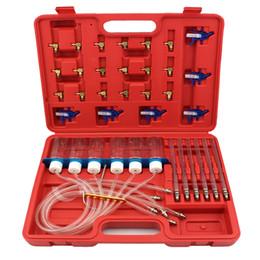 Wholesale Vw Fuel Injector - Diesel Engine Injector Fuel Flow Meter Master Tester Kit Diagnostic Tool Set
