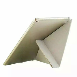 """Wholesale Fold Green Screen - High Quality Transformers Silk PU Leather Stand Case Cover for iPad Pro 12.9"""" Tablet Stand Shell Case for iPad Pro Protective Cases"""