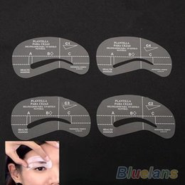 8 unids / set Estilos Grooming Stencil Kit Maquillaje Makeup Shaping DIY Belleza Ceja Plantilla Plantillas Herramientas Accesorios 1OL2 desde fabricantes