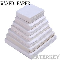Wholesale Wax Paper For Food - Wax paper Waxed paper Moisture proof Food wrapping paper For candy food pills etc. Many sizes