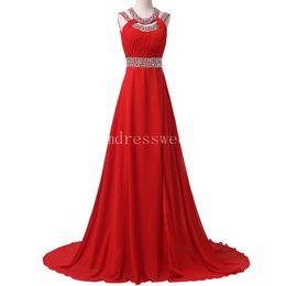 Wholesale Cotton Maternity Dresses Pattern - Real Sample Long Red Dresses Party Evening High Split Backless Formal Dresses Vestidos De Noche Largos Special Occasion Dresses
