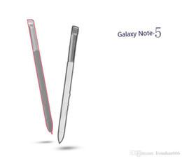 Argentina Lápiz táctil capacitiva S Pen Stylus para Galaxy Note5 Envío gratis Suministro