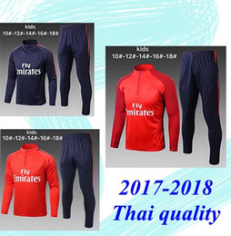 Wholesale Suits Kids Boys White - 17 18 kid tracksuit NEYMAR JR PSG KIDS BOYS Sweater MBAPPE kids soccer chandal football tracksuit Children's KIDS training suit skin