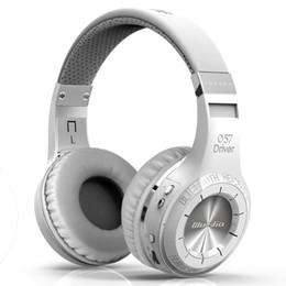 Wholesale Bluetooth Casque - Wholesale-Original Bluedio bludio Bluetooth V4.1 Wireless Headphone Bulit-in Microphone Noise Isolating Headset casque sans fil ecouteur